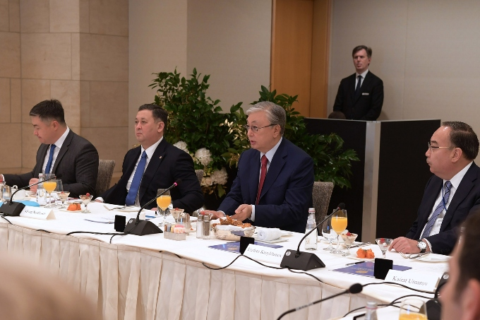 President of Kazakhstan Kassym-Jomart Tokayev met with the US political and expert community in New York