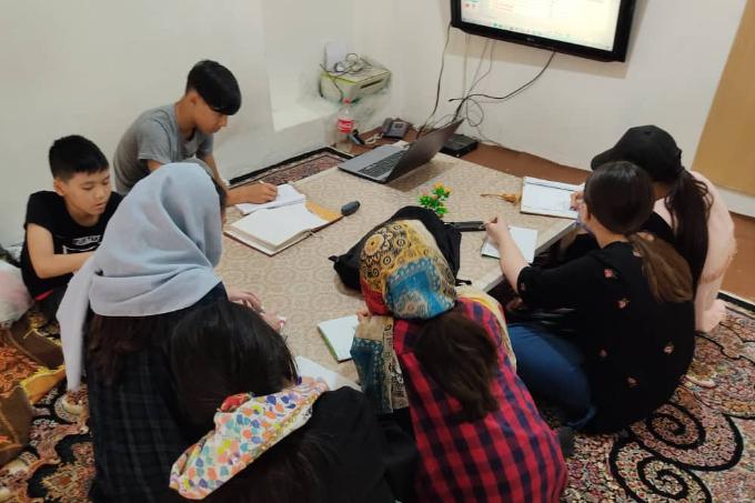 Абай институты бойынша шетелдерде қазақ тілін офлайн оқыту (2021 жыл)